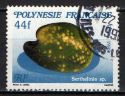 POLINESIA FRANCESE - 1988 - CONCHIGLIA: BERTHELINIA - USATO - Polinesia Francese