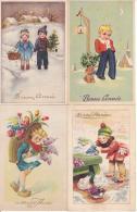 10 Cartes De Bonne Année - Nieuwjaar