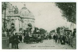 17 - T4971CPA - ROYAN - Corso D'automobiles Fleuries - Très Bon état - CHARENTE-MARITIME - Royan