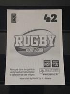 Image Album Panini - Rugby 2017-2018 - N° 42 - Panini