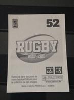 Image Album Panini - Rugby 2017-2018 - N° 52 - Panini