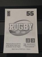 Image Album Panini - Rugby 2017-2018 - N° 55 - Panini