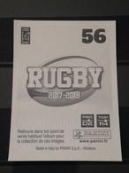 Image Album Panini - Rugby 2017-2018 - N° 56 - Panini
