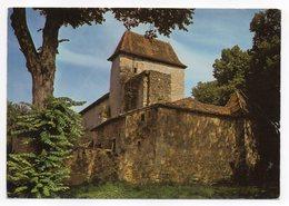 SOURZAC -- 1976 -- L'église De Sourzac --Ruines De L'ancien Prieuré--timbre --cachet PERIGUEUX-24 - Autres Communes