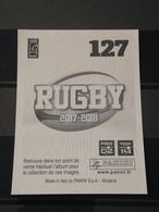 Image Album Panini - Rugby 2017-2018 - N° 127 - Panini