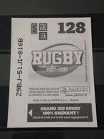 Image Album Panini - Rugby 2017-2018 - N° 128 - Panini