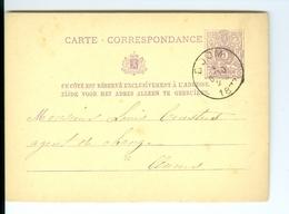 Carte Correspondance AS CàD Boom & Anvers 1877  à Louis Ceusters Agent De Change Anvers - Boom