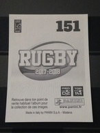 Image Album Panini - Rugby 2017-2018 - N° 151 - Panini