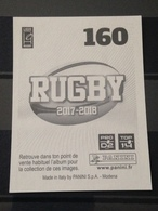 Image Album Panini - Rugby 2017-2018 - N° 160 - Panini