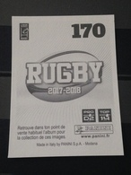 Image Album Panini - Rugby 2017-2018 - N° 170 - Panini