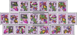 DDR WZd214-WZd216, SZd100-SZd105 (complete.issue.) Unmounted Mint / Never Hinged 1970 Fairytale (V): Brother And Schwes - [6] Democratic Republic