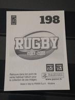 Image Album Panini - Rugby 2017-2018 - N° 198 - Panini