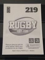 Image Album Panini - Rugby 2017-2018 - N° 219 - Panini