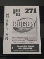 Image Album Panini - Rugby 2017-2018 - N° 271 - Panini