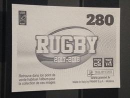Image Album Panini - Rugby 2017-2018 - N° 280 - Panini