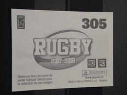 Image Album Panini - Rugby 2017-2018 - N° 305 - Panini