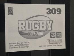Image Album Panini - Rugby 2017-2018 - N° 309 - Panini