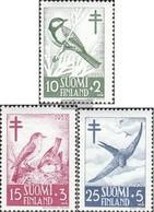 Finnland 413-415 (kompl.Ausg.) Gestempelt 1952 Bekämpfung Der Tuberkulose - Finlande