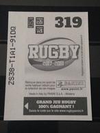Image Album Panini - Rugby 2017-2018 - N° 319 - Panini