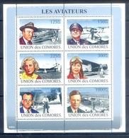 M62- Comores Comoros Komoren 2008. Transports. Aircraft. Airmen. Aviateurs. - Airplanes
