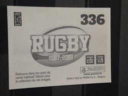 Image Album Panini - Rugby 2017-2018 - N° 336 - Panini