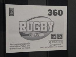 Image Album Panini - Rugby 2017-2018 - N° 360 - Panini