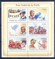 M65- Comores Comoros Komoren 2008. Nobel Prize Of Peace. Prix Nobel De La PAIX. - Nobel Prize Laureates