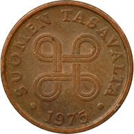 Monnaie, Finlande, 5 Pennia, 1975, TTB, Cuivre, KM:45 - Finlande