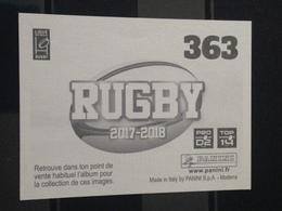 Image Album Panini - Rugby 2017-2018 - N° 363 - Panini