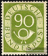 FRD (FR.Germany) 138 Unmounted Mint / Never Hinged 1952 Horn - Unused Stamps