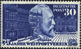FRD (FR.Germany) Mi.-number.: 116 Tested (complete Issue) Unmounted Mint / Never Hinged 1949 75 Years UPU - [7] Federal Republic