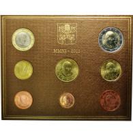 Cité Du Vatican, 1 Cent To 2 Euro, 2011, FDC, (No Composition) - Vatikan