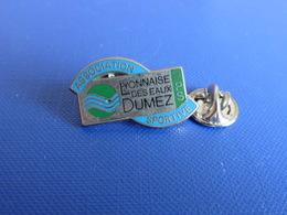 Pin's Association Sportive Lyonnaise Des Eaux Dumez - RPS - Zamac Ballard (PF70) - Badges