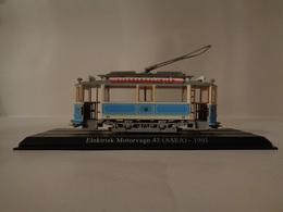 TRAMWAY  ELEKTRISK MOTORVAGN 43 ( ASEA )  GOTEBORG 1902 -1/43  Avec Notice - Voitures, Camions, Bus