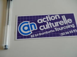 Autocollant - Ville - TOURCOING - CULTURE - Stickers