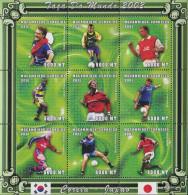 Mosambik 1814-1822 Sheetlet Unmounted Mint / Never Hinged 2001 Football-WM 2002 - Mozambique