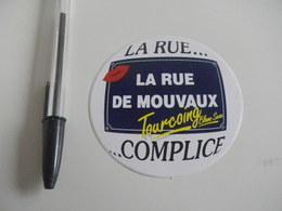 Autocollant - Ville - TOURCOING -  Rue De MOUVAUX - Stickers