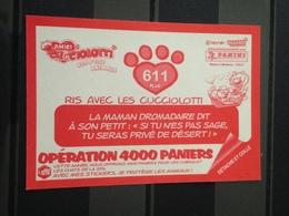 Image Album Panini - Aminici Nos P'tits Animaux 2018 - N° 611 - Panini