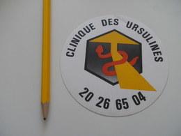 Autocollant - Ville - TOURCOING - CLINIQUE DES URSULINES - Stickers