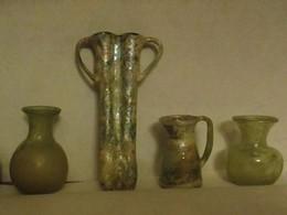 Lot Verrerie ROMAINE - Archaeology