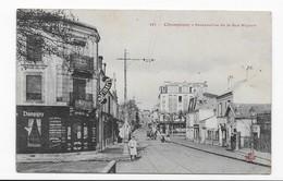 94  CHAMPIGNY      RUE   MIGNON   PERSONNAGES  IMPRIMERIE  RESTAURANT   BON ETAT  2 SCANS - Champigny Sur Marne