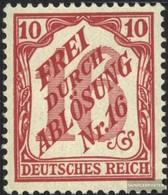 Deutsches Reich D12 MNH 1905 Timbro Ufficiale - Deutschland