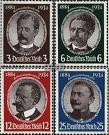 German Empire 540-543 (complete Issue) Unmounted Mint / Never Hinged 1934 Colonial Scientists - Germany