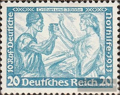 German Empire 505A Perforation 20:15 Unmounted Mint / Never Hinged 1933 Emergency:Wagner - Germany