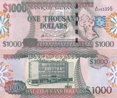 Guyana - 1000 Dollars 2009 UNC Lemberg-Zp - Guyana