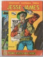 Jesse James N° 1-1958 : Coleccion Illustrada Ferma - Livres, BD, Revues