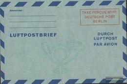 Berlin (West) LF2b II Luftpost-Faltbrief Ungebraucht 1949 Wertkästchen - Berlin (West)