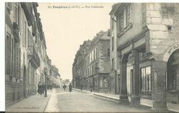 35  Fougeres Rue Nationale    Animée - Fougeres