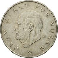 Monnaie, Norvège, Olav V, Krone, 1976, TB+, Copper-nickel, KM:419 - Norvège
