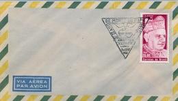 1966 , BRASIL , SOBRE CON MATASELLOS ESPECIAL , III ANIV. DE LA MUERTE DEL PAPA JUAN XXIII - Cartas